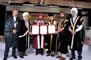 GNDU honoring General Bikram Singh 31 may 2018 44th Annual Convocation of GNDU (6)